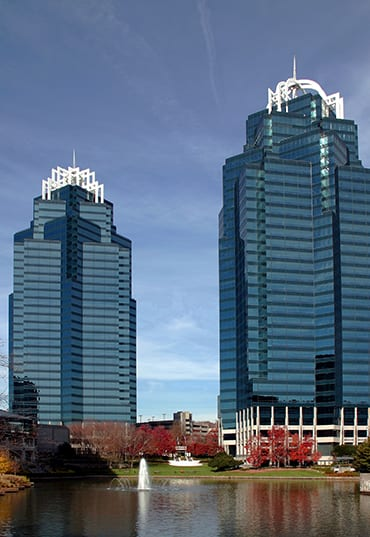 Hoffman Financial Group is located in Atlanta near the iconic King and Queen buildings. They provide tax planning services.